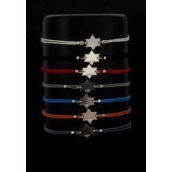 Bracelet Cordon Maguene Argenté Neyss Création