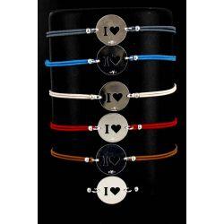 Bracelet Cordon I LOVE