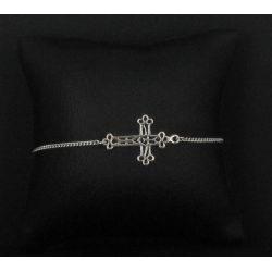 Bracelet Croix baroque Argent 925.