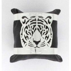 Jonc de Poignet Tête de Tigre Argent