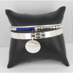Bracelet Ensemble argent Lapis