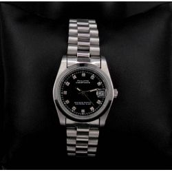 Montre Vintage Unisexe Acier F.Noir